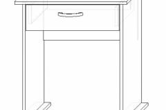Стол для ноутбука СК-7
